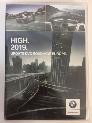 DVD BMW Navigation High Satnavmap Last update Europe 2019